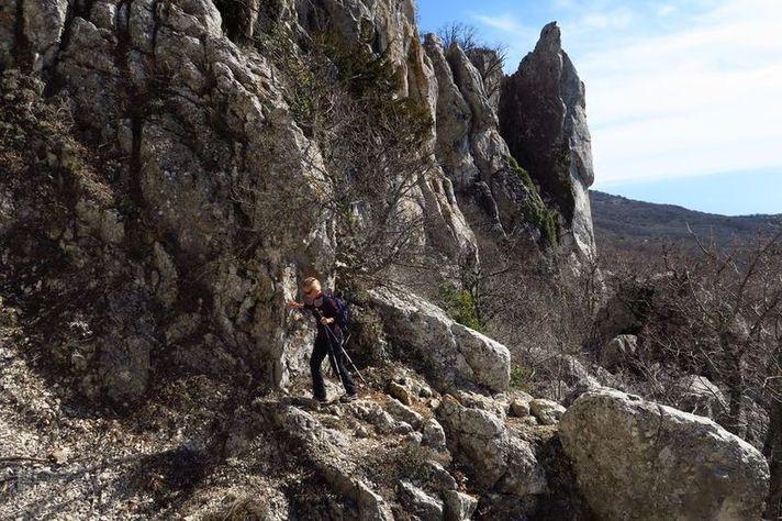 Подъем на перевал Миэссис-богаз