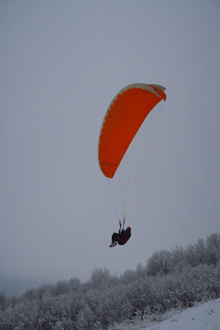 Полет над СЗ склоном