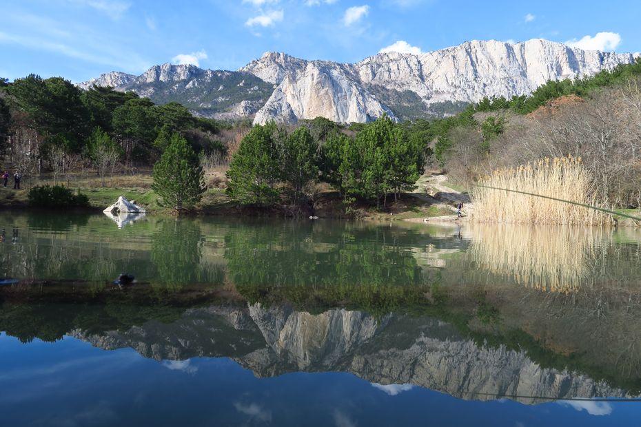 Озеро под Шаан-Каёй